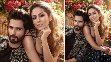 Shahid Kapoor and Mira Rajput's Vogue Wedding Book Cover Makes us Wonder How Great They Look Together