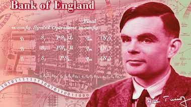 Bank of England to Issue New £50 Bank Note Featuring Mathematician Alan Turing