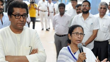 Raj Thackeray Meets Mamata Banerjee Over Anti-EVM Campaign