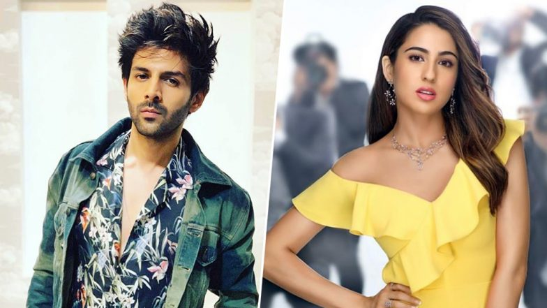 Did Sara Ali Khan Jet Off to Lucknow to See Rumoured Boyfriend Kartik Aaryan? This Video of Her Running at the Airport Suggests So!