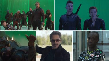 Avengers: Endgame Bloopers: Earth's Mightiest Superheroes Will Leave You in Splits With Their Funny Moments on Sets (Watch Video)