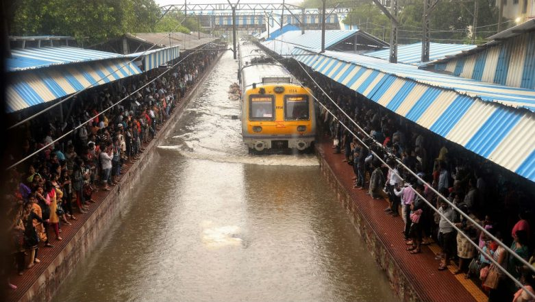 Mumbai-Pune Rail Route Affected as Heavy Rains Trigger Landslide Near Monkey Hill