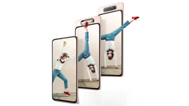 Samsung Galaxy A80 Smartphone With Rotating Triple Camera Launched in India At Rs 47,990; Prices, Features & Specifications