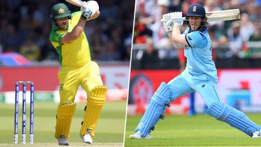 Australia vs England Betting Odds: Free Bet Odds, Predictions and Favourites During AUS vs ENG in ICC Cricket World Cup 2019 Semi-Final Match