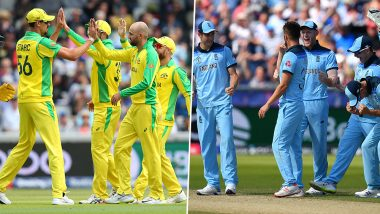 Australia vs England World Cup Head-to-Head: Ahead of ICC CWC 2019 Semi-Final Here's a Look Back at Previous AUS vs ENG WC Clashes
