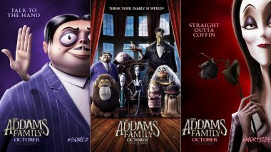 The Addams Family Character Posters Revealed! Morticia, Gomez, Uncle Fester And Thing Look Super Funky!