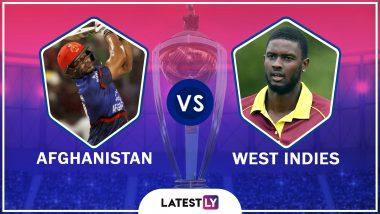 Afghanistan vs West Indies Highlights of ICC World Cup 2019 Match: West Indies Beat Afghanistan by 23 Runs