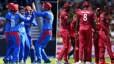 AFG vs WI Head-to-Head Record: Ahead of ICC CWC 2019 Clash, Here Are Match Results of Last 5 Afghanistan vs West Indies Encounters!