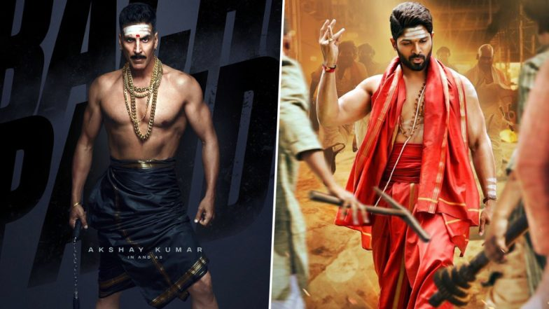 Bachchan Pandey Allu Arjun Fans Feel Akshay Kumar's Upcoming Film is Giving Vibes of Duvadda Jagannadham