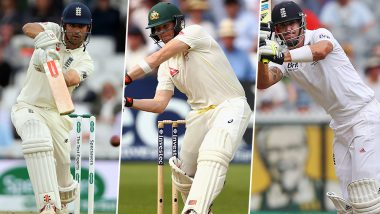 Ashes 2019: Here's a Look at the Top Five Knocks Played in England vs Australia Tests Over the Past Decade