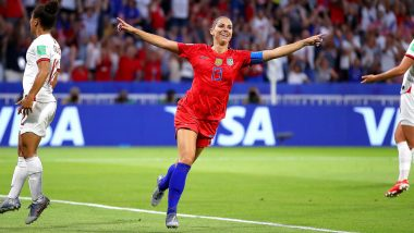USA vs England, FIFA 2019 Women's World Cup Semifinal Highlights: Alex Morgan Delight After Stepping Up for USA in Megan Rapinoe Absence