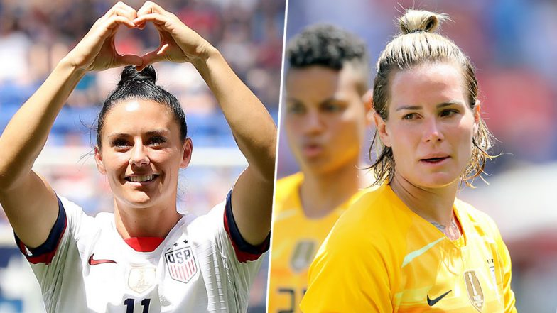 FIFA Women's World Cup 2019 USA Teammates and Lesbian Couple Ali Krieger and Ashlyn Harris to Get Married in December! (Check Instagram Post)
