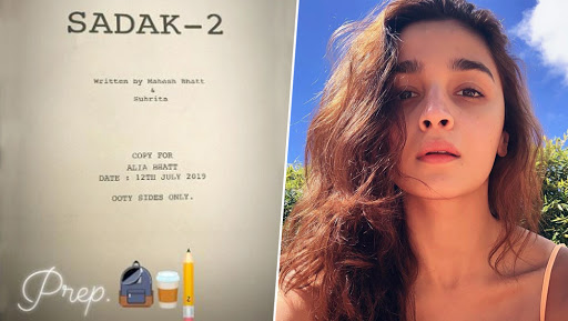 Sadak 2: Alia Bhatt is Already in Ooty to Start Shooting for the Film's Second Schedule