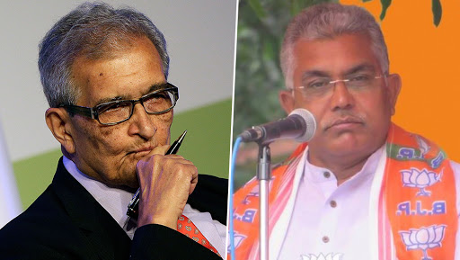 Jai Shri Ram Chanting Row: Dilip Ghosh Questions Amartya Sen's Knowledge of Bengali and Indian Culture