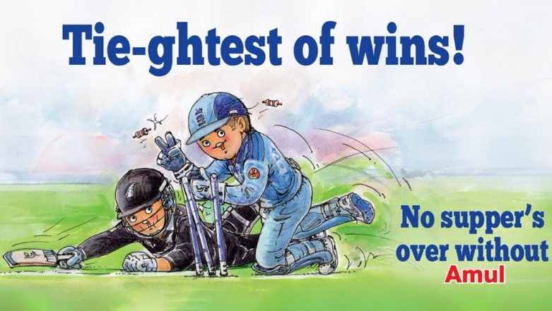 Amul Celebrates England's ICC Cricket World Cup 2019 Victory With an Utterly Delicious Topical
