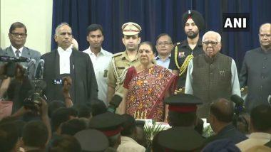 Anandiben Patel Sworn-in as Uttar Pradesh Governor