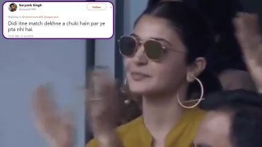 Anushka Sharma Asks What is Signal For Four During IND vs SL Cricket Match in CWC 2019, Netizens Say 'Aise Kaise Chalega Didi' With Funny Memes