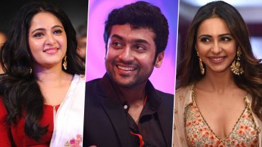 Anushka Shetty, Rakul Preet Singh and Others Wish Suriya Sivakumar on His 44th Birthday!