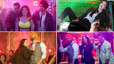 Arjun Patiala Song Crazy Habibi VS Decent Munda: Sunny Leone-Diljit Dosanjh Burn the Dance Floor in This Out-and-Out Club Number! Watch Video