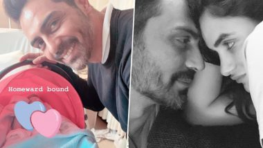 Gabriella Demetriades Shares Pic of Her Newborn with Beau Arjun Rampal and It's Absolutely Adorable!