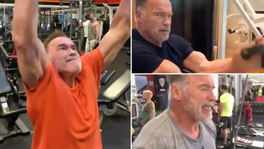 Arnold Schwarzenegger Workout Diet And Fitness How The 7