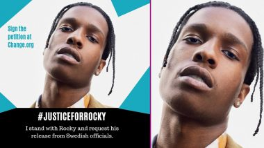 ASAP Rocky Gets Support From Justin Bieber, Shawn Mendes, Post Malone, Nicki Minaj As #JusticeForRocky Trends on Twitter