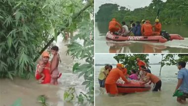 Assam Floods: NDRF Rescue Operations Intensifies as Districts of Tripura, Meghalaya Get Affected by Deluge, More Than 26 Lakh Affected