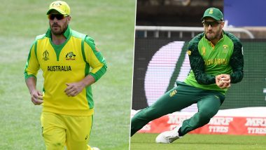 Australia vs South Africa Toss & Playing 11 Update: Faf Du Plessis Elects to Bat First; Hashim Amla Left Out