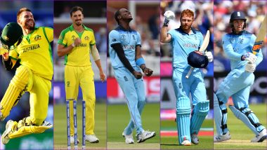 AUS vs ENG, ICC Cricket World Cup 2019, Semi-Final 2 Key Players: David Warner, Jason Roy, Mitchell Starc & Other Cricketers to Watch Out for at Edgbaston Cricket Ground in Birmingham