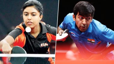 Ayhika Mukherjee Becomes First Indian to Win Women's Singles Title at Commonwealth Table Tennis Championships, Harmeet Desai Clinch Gold in Men's Singles As Team India Clean Sweeps Top-Honours