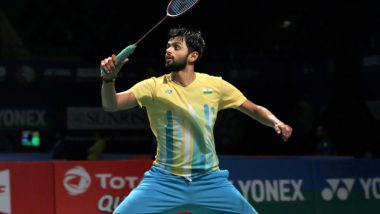 Japan Open 2019: B. Sai Praneeth Defeats Kento Nishimoto in the Opening Round of the Tournament