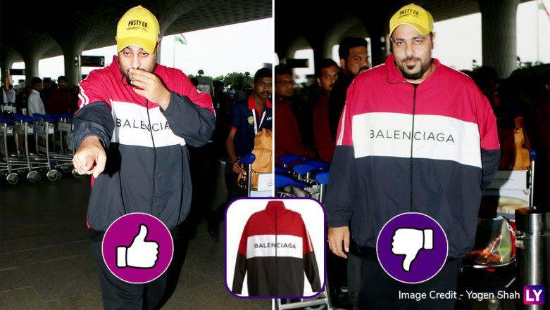 Yo or Hell No! Your Thoughts About Badshah's Balenciaga High-Neck Jacket?