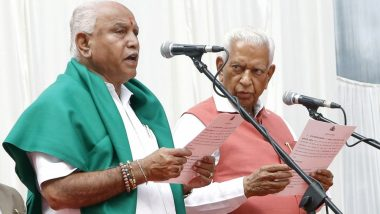 BS Yediyurappa Takes Oath as Karnataka Chief Minister For 4th Time