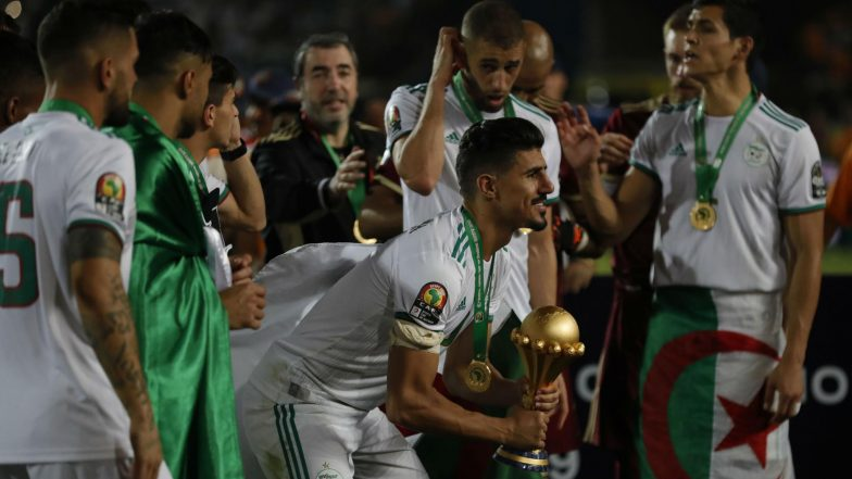 Algeria Sink Senegal 1-0 to Win Second Africa Cup of Nations Trophy