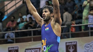Bajrang Punia Clinches Bronze at World Wrestling Championship 2019; Ace Grappler Becomes First Indian to Win Three Medals at World Championships