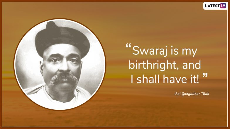 Bal Gangadhar Tilak Quotes: Popular Thoughts by the Indian Freedom Fighter On His 162nd Birth Anniversary