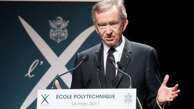 Bernard Arnault Becomes World's Second-Richest Person; Chairman of LVMH Overtakes Bill Gates
