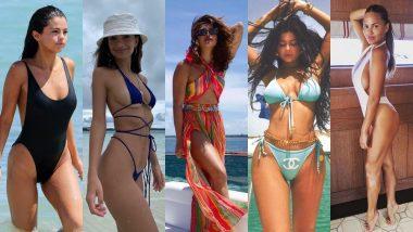 Priyanka Chopra, Kylie Jenner, Chrissy Teigen, Selena Gomez - Best Bikinis and Beachwear We've Witnessed This Summer, Courtesy These Ladies