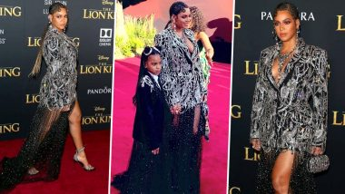 Beyoncé and Blue Ivy Bedazzle the New Lion King Premiere Wrapped in Diamonds (View Pics)