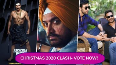 Akshay Kumar's Bachchan Pandey, Aamir Khan's Lal Singh Chaddha or Ajay Devgn-Ranbir Kapoor's Next: Which Movie Will You Watch on Christmas 2020? Vote!