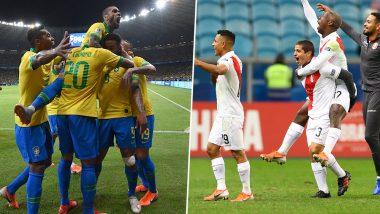 Ahead of Brazil vs Peru, Copa America 2019 Final, Charting Both Football Teams' Journey in the Tournament So Far