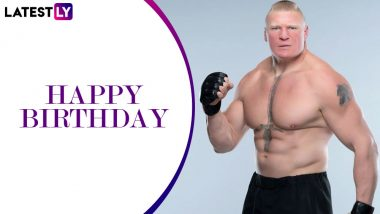 Brock Lesnar Turns 42 Years Old; Diet, Fitness and Workout Plan of the Beast Incarnate (Watch Video)