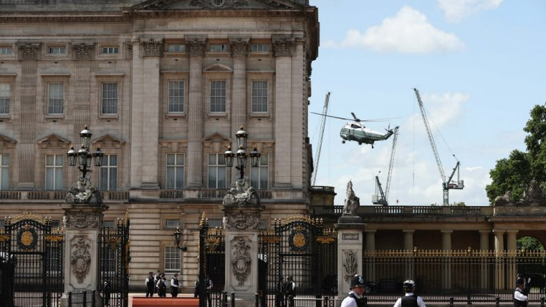 Man Climbs Buckingham Palace Gates With Queen Elizabeth II in Residence, Gets Arrested