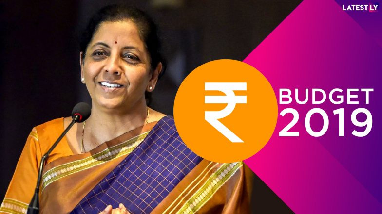 Union Budget 2019 Presented by FM Nirmala Sitharaman: Pension For Retailers, Cess on Petrol & Diesel, TV Channel For Startups & More