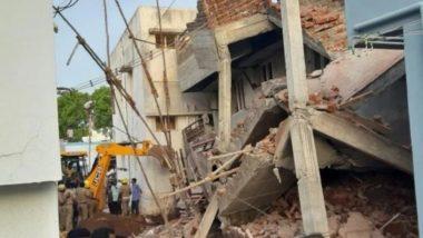 Tamil Nadu: Madurai Under-Construction Building Collapses, Rescue Operation Underway