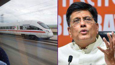 Piyush Goyal Ends Silence on Bullet Train, Says '2022 Was Never a Deadline'