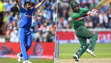 IND vs BAN, ICC Cricket World Cup 2019: Jasprit Bumrah vs Tamim Iqbal and Other Exciting Mini Battles to Watch Out for at Edgbaston Cricket Ground