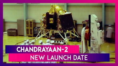 Chandrayaan-2 New Launch Date: ISRO To Launch Moon Mission Spacecraft on July 22