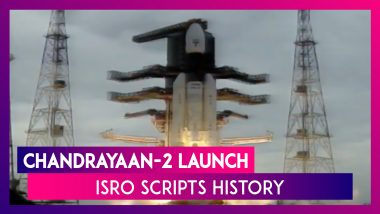 Chandrayaan – 2 Lift Off: ISRO Successfully Launches Spacecraft Into GTO Orbit