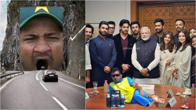 CWC 2019 Funny Memes: From Sarfaraz Ahmed's Yawning to Yuzvendra Chahal's Pose, Revisiting ICC Cricket World Cup 2019 With Most Hilarious Jokes and Memes